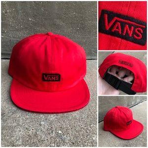 Vans Limited Red X Baker Hat